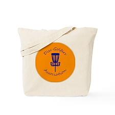Orange Disc golf Disc Tote Bag