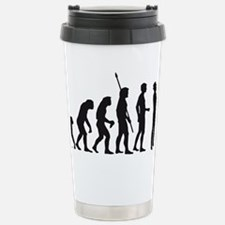 evolution saxophone player Travel Mug