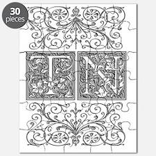 TN, initials, Puzzle