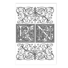 RN, initials, Postcards (Package of 8)