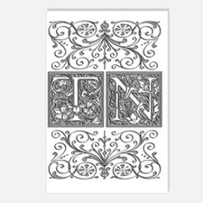 TN, initials, Postcards (Package of 8)