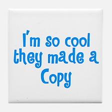 TwinBaby Copy Tile Coaster