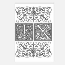 TX, initials, Postcards (Package of 8)