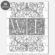 WI, initials, Puzzle