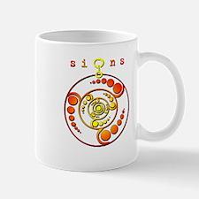 Crop Circle #9 Orange Mug