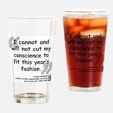 Hellman Fashion Quote Drinking Glass