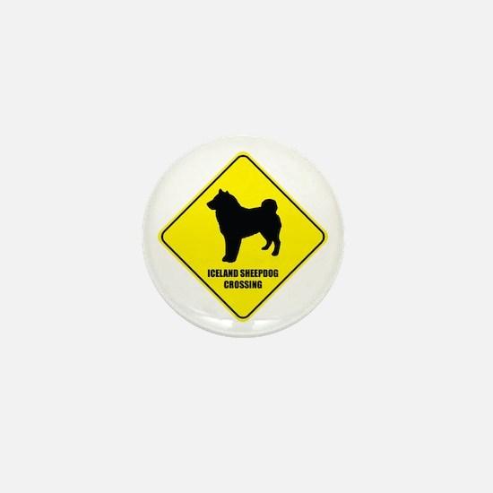 Sheepdog Crossing Mini Button