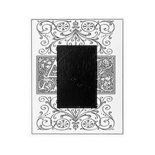 AI, initials, Picture Frame