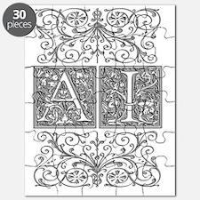 AI, initials, Puzzle
