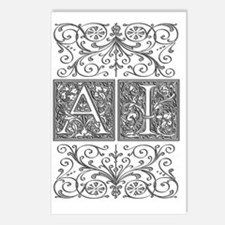 AI, initials, Postcards (Package of 8)