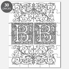 BB, initials, Puzzle