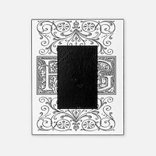 BG, initials, Picture Frame
