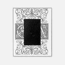 CA, initials, Picture Frame