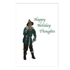 Unique Christmas wizard of oz Postcards (Package of 8)