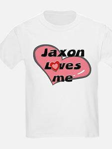 jaxon loves me Kids T-Shirt