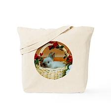 Basket Bunny Tote Bag