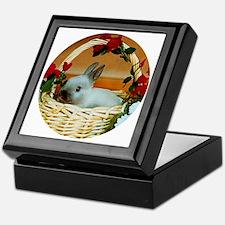 Basket Bunny Keepsake Box