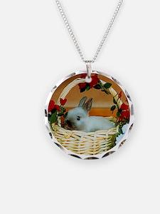 Basket Bunny Necklace