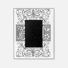 AJ, initials, Picture Frame