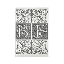 BF, initials, Rectangle Magnet