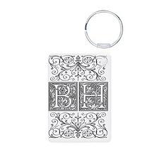 BH, initials, Keychains