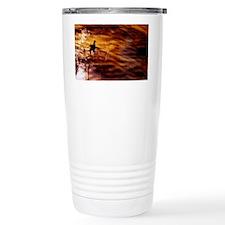 Bird in Water Travel Mug