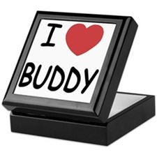 I heart BUDDY Keepsake Box