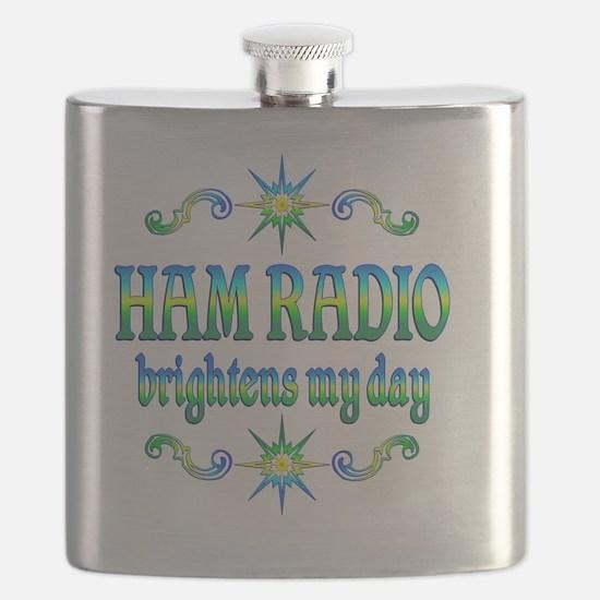 Ham Radio Brightens Flask