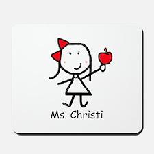 Apple - Christi Mousepad