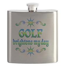 Golf Brightens Flask