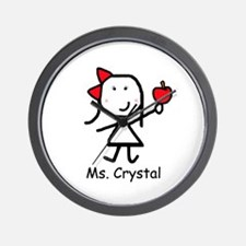 Apple - Crystal Wall Clock