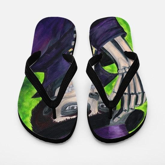 Voodoo Etiquette Flip Flops