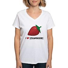 I Love Strawberries Shirt