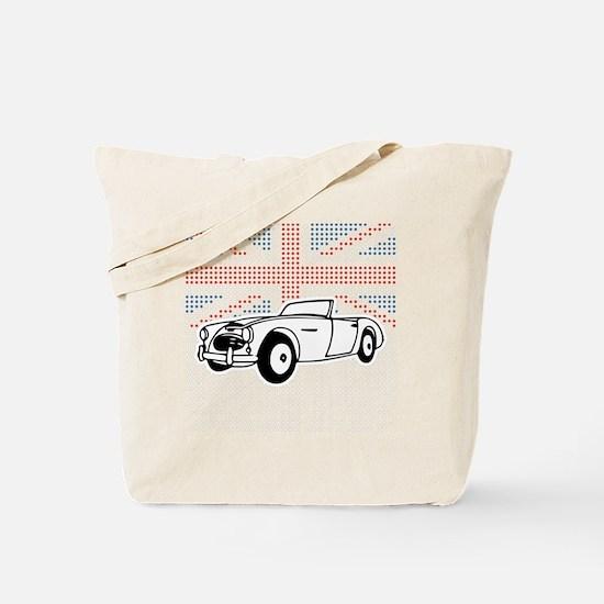 Austin-Healey Union Jack Tote Bag