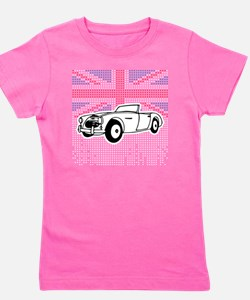 Austin-Healey Union Jack Girl's Tee
