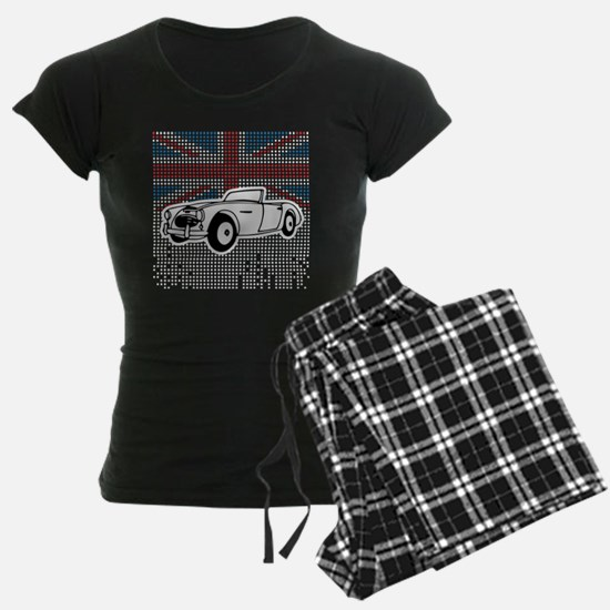 Austin-Healey Union Jack Pajamas