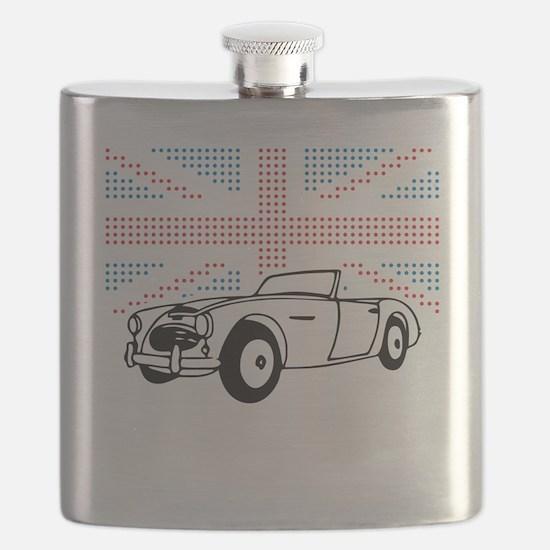 Austin-Healey Union Jack Flask