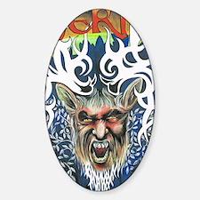 The God Herne Sticker (Oval)