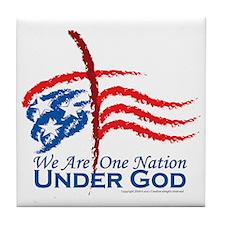 American Pride Tile Coaster