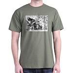 Palestinian Body Armor Dark T-Shirt