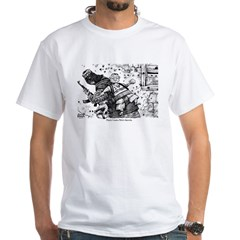 Palestinian Body Armor White T-Shirt