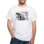 Palestinian Body Armor White T-Shirt