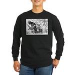 Palestinian Body Armor Long Sleeve Dark T-Shirt