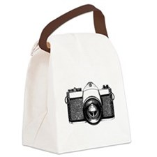 35mm Camera Canvas Lunch Bag