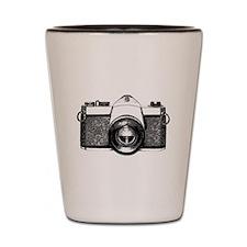 35mm Camera Shot Glass