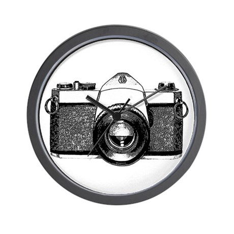 35mm Camera Wall Clock