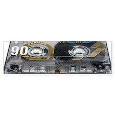 Audio cassette tape Bumper Sticker