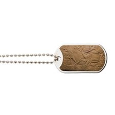 Assyrian Relief Dog Tags