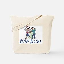 Purim Rocks Tote Bag