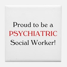 Proud Psych SW Tile Coaster
